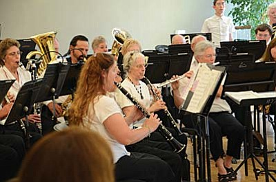 The Cottonwood Community Band will perform holiday concerts Dec. 1 in Sedona and Dec. 8 in Cottonwood.