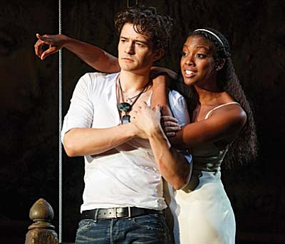 "Celebrate Valentine's Day with the greatest love story of all time: ""Romeo and Juliet"" starring Orlando Bloom and Condola Rashad.  The recent Broadway limited engagement of one of Shakespeare's most well-known and performed plays is now coming to the big screen at the Mary D. Fisher Theatre, Feb. 13-14."