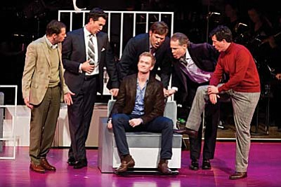 """Stephen Sondheim's Tony Award-winning musical revival """"Company"""", featuring the New York Philharmonic Orchestra, returns to the Mary D. Fisher Theatre on Tuesday, April 1 in celebration of the theatre's 2-year anniversary. Emmy-winning actor Neil Patrick Harris leads a star-studded cast which includes Patti LuPone, Stephen Colbert, Jon Cryer, Christina Hendricks, Craig Bierko and Martha Plimpton. Showtimes are 4 p.m. and 7 p.m."""