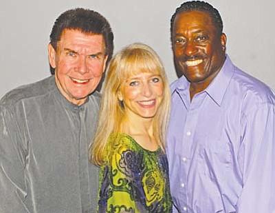 Tom & Shondra with Sammy Davis