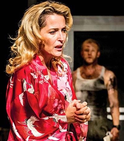 "The fastest-selling production in the Young Vic's history, Tennessee Williams' timeless masterpiece ""A Streetcar Named Desire"" stars Gillian Anderson as Blanche DuBois, Ben Foster as Stanley and Vanessa Kirby as Stella."