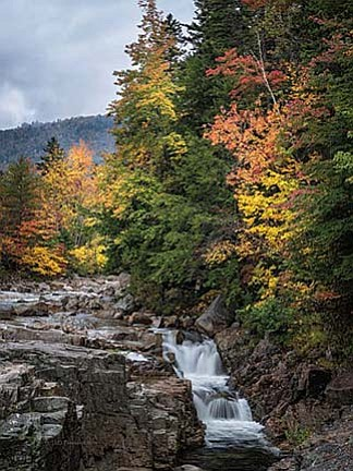 Stormy Day at Rocky Gorge NH (C)2014 by Jim Peterson