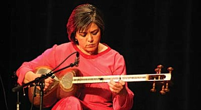 The Persian Music Ensemble from L.A., The LIAN Ensemble, will perform Friday, Feb. 20.