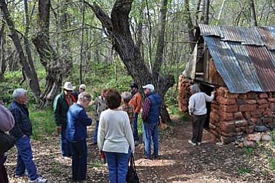 The tours will be narrated by Paul Thompson. Thompson is the grandson of pioneer homesteader Jim Thompson, the Sedona area's first permanent Anglo settler who came here in 1876
