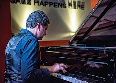 It's an Easter Season celebration of the improvisational music of Jazz, showcasing Greek pianist/composer Ioannis (Yanni) Goudelis, pictured, and double bassist Chris Finet, performing at Sunday's 3 p.m. chamber jazz concert at Saint Luke's Church, Sedona.