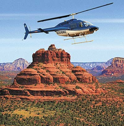 Hillsboro Aviation has launched a helicopter tour operation in Sedona called Hillsboro Aviation – Sedona, which offers helicopter tours over Sedona's most famous landmarks and is one of the only tour operators to partner with the Forest Service to provide employee training on the geological, biological and archaeological history of Sedona. Courtesy photo