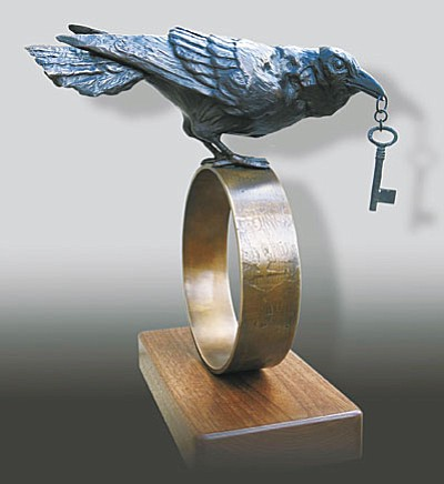 Sedona Arts Center opens Hardscapes featuring artistssuch as Deanne McKeown, whose sculpture work (above) and jewelry will be displayed.
