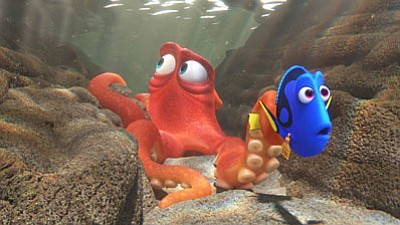 Finding Dory has plenty of humor and colorful underwater scenery to be a treat for kids, but I found it was too long to hold interest through to the end. And the younger viewers may have trouble following Dory's flashbacks to her youngest years, where she finds some guidance in memories of her parents' advice.