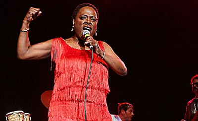 """Two-time Academy Award-winner Barbara Kopple follows Grammy-nominated R&B dynamo Sharon Jones during the most courageous year of her life. """"Miss Sharon Jones!"""" is a triumphant crowd-pleaser that captures an irrepressible human spirit as she battles back to where she belongs; center stage."""