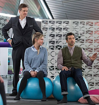 Miramax<br /><br /><!-- 1upcrlf2 -->Renée Zellweger, Colin Firth and Patrick Dempsey star in 'Bridget Jones's Baby,'.