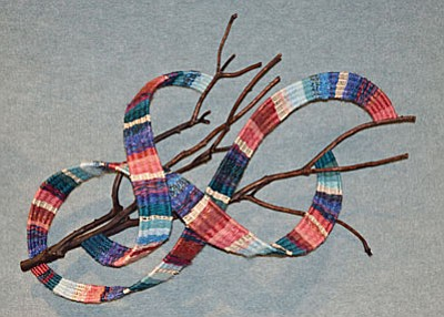 Fiber Sculpture by Mary Flaisig. Photograph by Shirley Eichten Albrecht