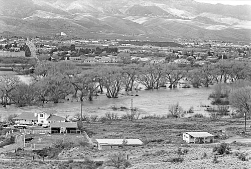 The water is wide: The Verde caused devastation along a 26-mile stretch from Clarkdale to Camp Verde.
