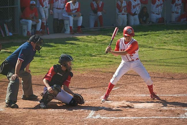 VVN/Shane DeLong The Marauders and Panthers took their swings.