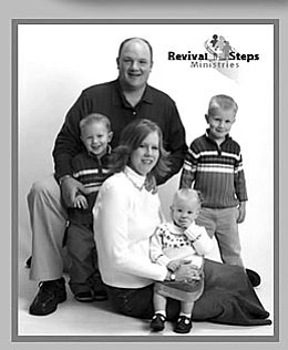 Evangelist Ray McCormick and family