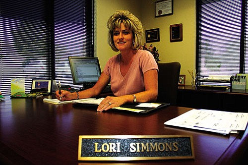 Lori Simmons of Cottonwood has been promoted to President of the Cottonwood branch of First State Bank.
