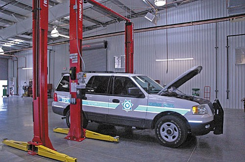 The new service department offers 12 service bays, state of the art diagnostic and repair equipment and the added benefit of employing additional green practices to their service work.