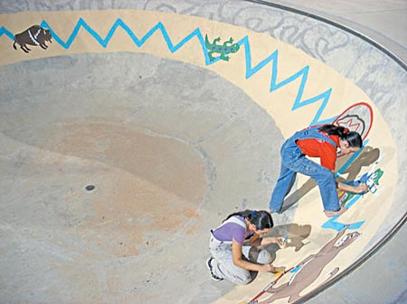 Freshly Painted Skate Park To Re Open Monday The Verde Independent