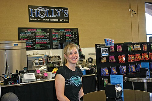 Holly Walls opened her own café, Holly's, inside the new Ace Hardware store at 545 S. 12th St. in Cottonwood in mid June.