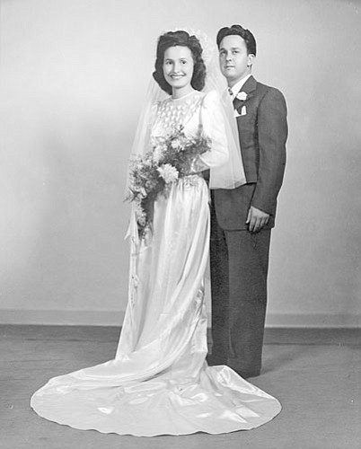 Joe and Ida Selna were married on Aug. 8, 1948.
