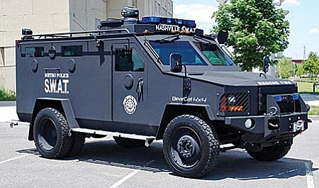 This is a Lenco BearCat Armored Rescue Vehicle similar to one proposed to be purchased for the Cottonwood SWAT team under a grant application.
