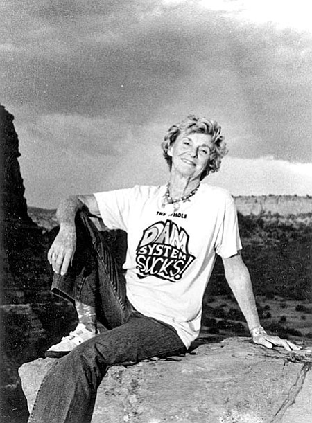 Katie Lee, 1983. Photo from NAU Cline Library.