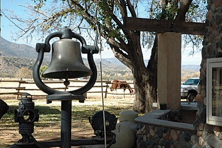 VVN/Steve Ayers The Rockin' River Ranch has been a working horse and cattle ranch since the 1940s, and was once owned by the owner of Mr. Lucky's dance hall and bar in Phoenix.