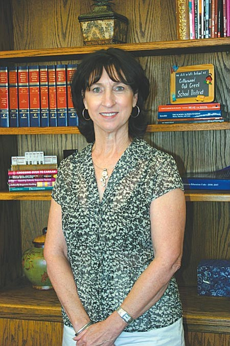 Superintendent Barb U'Ren