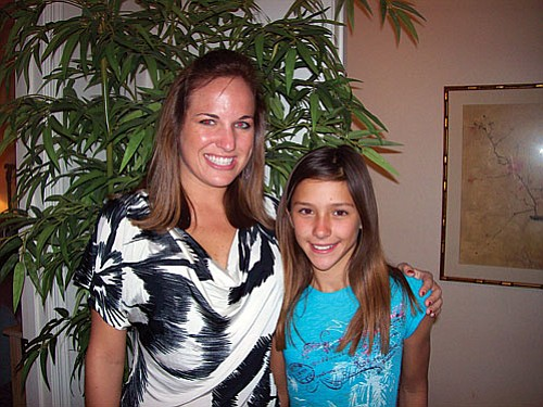 Kia Conlon (Little) and Leslie Sonnier (Big)