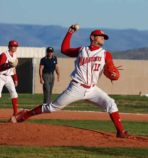VVN/J. Pelletier The Mingus Union baseball team is in the top spot in the Grand Canyon Region and is also the top team in the State in the 4A II Conference according to Power Points.