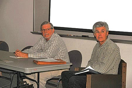 The Panel also included Bob Carabell, rebutting for the designation and Ron Volkmann speaking against the Designation.