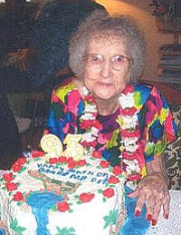 Dorothy Faye Garner Warden