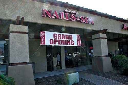 VVN/Philip Wright Safeway Center's newest business in Suite G is Cottonwood Nails & Spa, specializing in manicures, pedicures and waxing.
