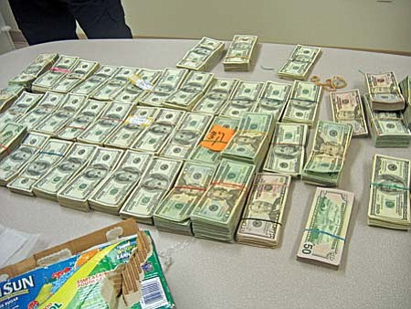 Nearly Half Million Dollars Seized Over Labor Day Weekend The Rh Verdenews Com How Big Is