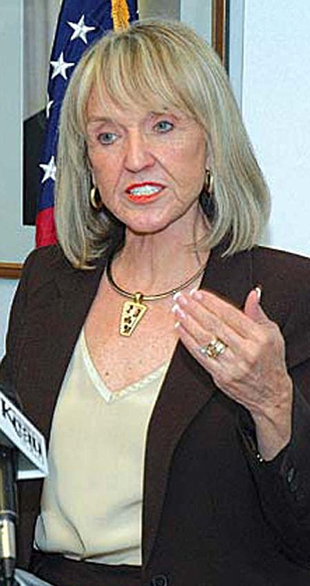 Gov. Jan Brewer, who inherited the job in January after Janet Napolitano quit to take a job in the Obama administration, already faces a primary against two fairly well-known Republicans: former state party Chairman John Munger and Paradise Valley Mayor Vernon Parker. And state Treasurer Dean Martin said he, too, is weighing a gubernatorial bid.  Photo by Howard Fischer, Capitol Media Services