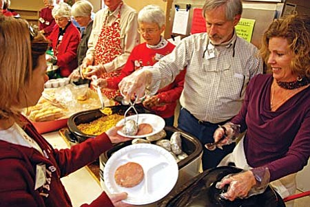 "A free holiday dinner will be served on Christmas Eve, Thursday Dec. 24. from noon to 2 p.m. A variety of activities will take place during this wonderful celebration, including: Holiday Music and Traditional Christmas Dinner. ""These events allow us to love on our clients in a wonderful way,"" shares Bryan Detwiler, chief executive officer."