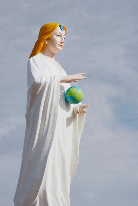 Mago Mother Earth statue