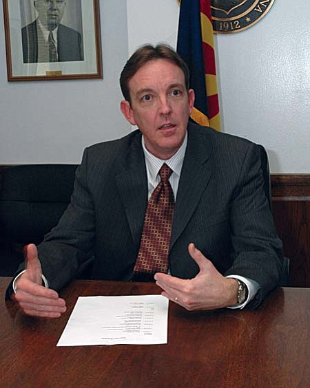Secretary of State Ken Bennett has moved to strip the Green Party of its political status in Arizona.