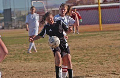 VVN/Wendy Phillippe<br/>The Mingus Union girls soccer team continues to dominate.