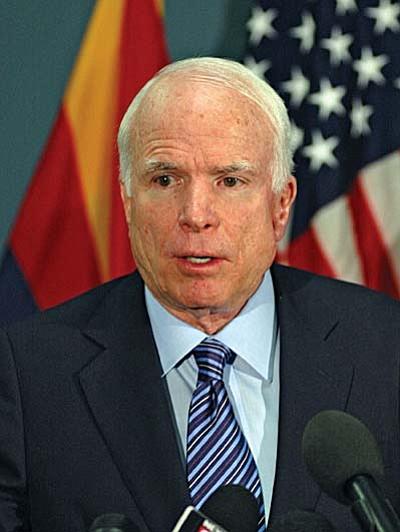 U.S. Sn. John McCain