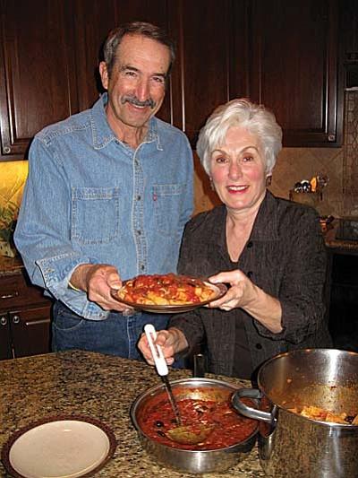 David and Joanne Barron: a marriage enchanced by pasta-Pasta alla  Puttanesca