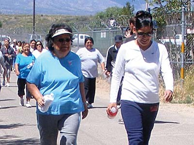 A television show has helped the Yavapai-Apache Nation implement a change of lifestyle.