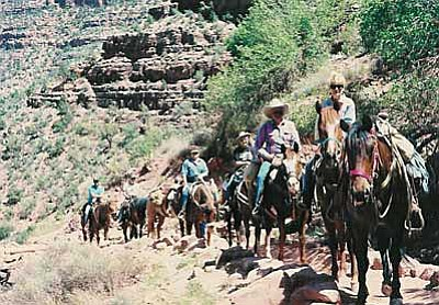 From the beginning the groups trail rides have proven popular. Courtesy photo