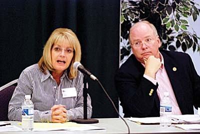 Karen Fann and Andy Tobin