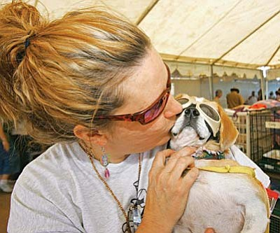 Last year about 90 dogs and cats were adopted. The most successful single day for Pet-A-Palooza in the Verde Valley sent 152 animals to new homes.