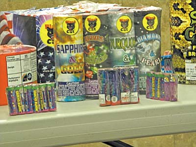 Ground based fireworks, permitted under the law effective Dec. 1 were on display as the Cottonwood Council considered their ban.