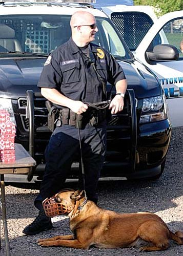 The Cottonwood Police Department and Yavapai County Sheriff� Office are investigating the death of Dakota, the K-9 partner of Sgt. Campbell. VVN/Jon Pelletier