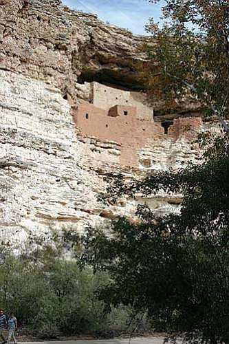Montezuma Castle Natinal Monument commemorates the birthday of Theodore Roosevelt Oct. 30.