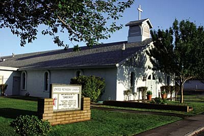 Camp Verde UMC schedule change <br /><br /><!-- 1upcrlf2 -->Nov. 7<br /><br /><!-- 1upcrlf2 -->The Camp Verde United Methodist Church, 480 W. First St., Camp Verde, announces that beginning Sunday, Nov. 7, there will be a change in our Sunday services schedule.<br /><br /><!-- 1upcrlf2 -->Sunday school for all ages will be from 9:00-9:45 AM, Fellowship & Friendship at 9:45 a.m. and worship service will be at 10 a.m.<br /><br /><!-- 1upcrlf2 -->Gracious greetings are extended to everyone in our community to join us in a joyous blending of traditional and contemporary music, heart warming biblical messages from Pastor Rick Carling, and a family inspired fellowship experience.<br /><br /><!-- 1upcrlf2 -->For additional information, please call the church office at (928) 567-3447.