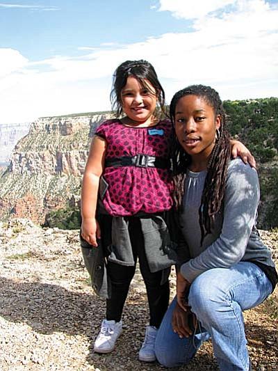 Big Sister Nyomi & Little Sister Cierra