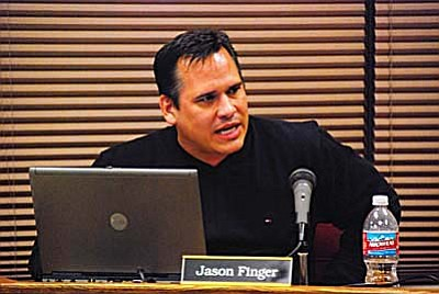 """School board Member Jason Finger said that closing only one school really isn't an option. """"By closing one campus we're not even coming close,"""" he said, talking about balancing the expected shortfall of $1.5 million.<br /><br /><!-- 1upcrlf2 -->"""